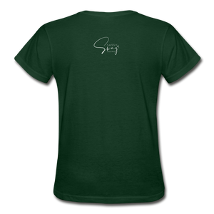 A Royal Priesthood Gildan Ultra Cotton Ladies T-Shirt - forest green