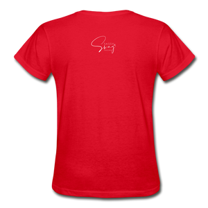 A Royal Priesthood Gildan Ultra Cotton Ladies T-Shirt - red