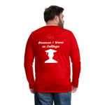 I'm Smarter Than a 5th Grader Men's Premium Long Sleeve T-Shirt - red