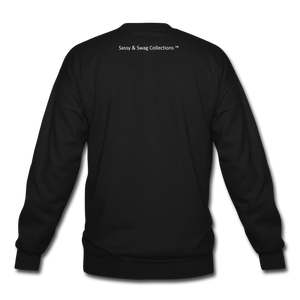 I'm the Boss Crewneck Sweatshirt - black