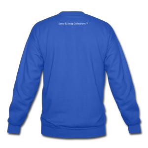 I'm the Boss Crewneck Sweatshirt - royal blue