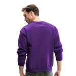 My Wife's the Boss Crewneck Sweatshirt - purple