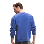 My Wife's the Boss Crewneck Sweatshirt - royal blue