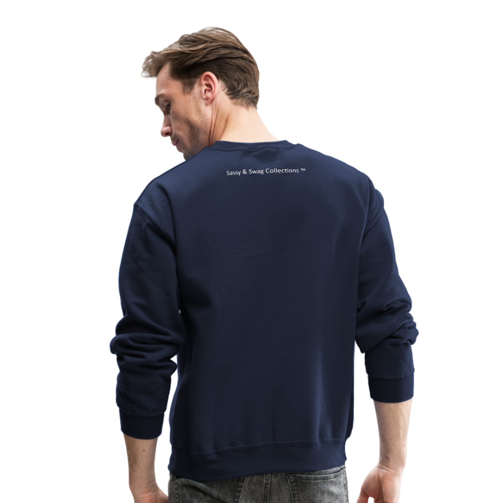 My Wife's the Boss Crewneck Sweatshirt - navy