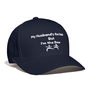 I'm the Boss Baseball Cap - navy
