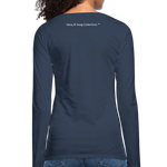 I'm a House of Prayer Women's Premium Long Sleeve T-Shirt - navy