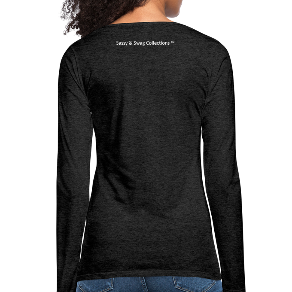 I'm a House of Prayer Women's Premium Long Sleeve T-Shirt - charcoal gray