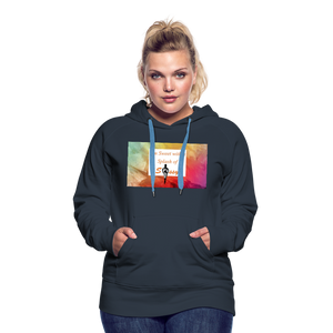I'm Sweet with a Splash of Sassy Women's Premium Hoodie - navy