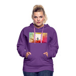 I'm Sweet with a Splash of Sassy Women's Premium Hoodie - purple