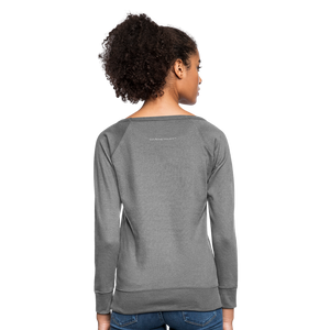 I'm Sweet with a Splash of Sassy Women's Crewneck Sweatshirt - heather gray