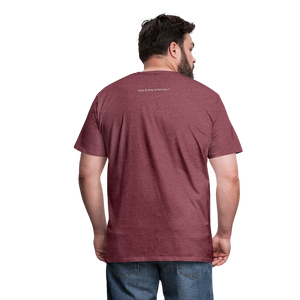 Her King Men's Premium T-Shirt - heather burgundy