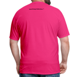 I'm Swag All Day Men's T-Shirt - fuchsia