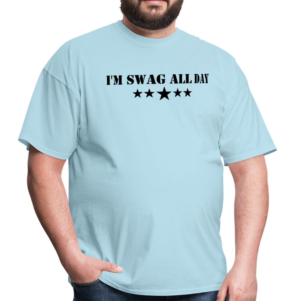 I'm Swag All Day Men's T-Shirt - powder blue