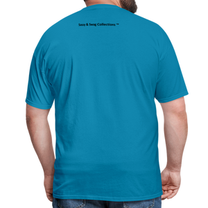 I'm Swag All Day Men's T-Shirt - turquoise