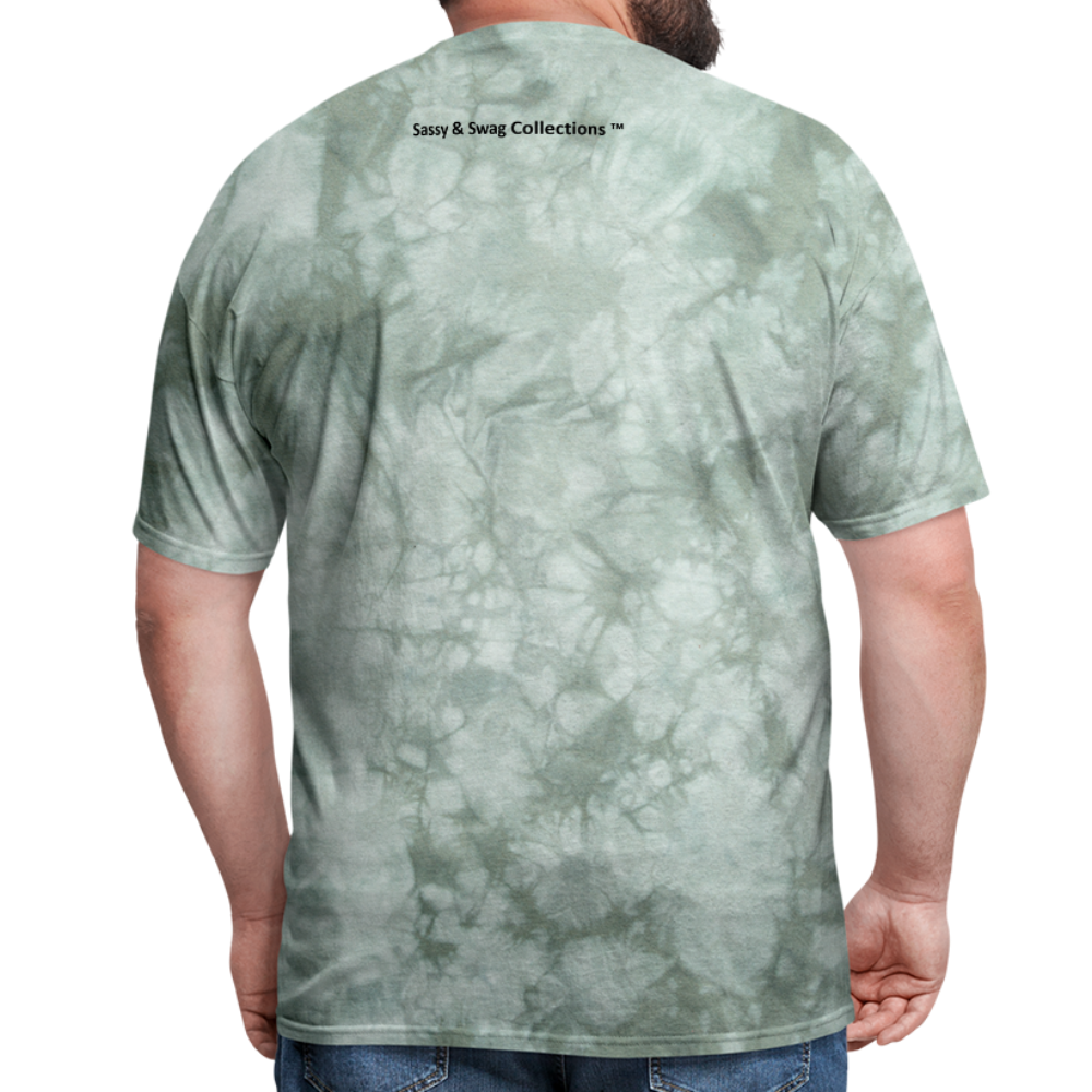 I'm Swag All Day Men's T-Shirt - military green tie dye