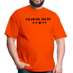 I'm Swag All Day Men's T-Shirt - orange