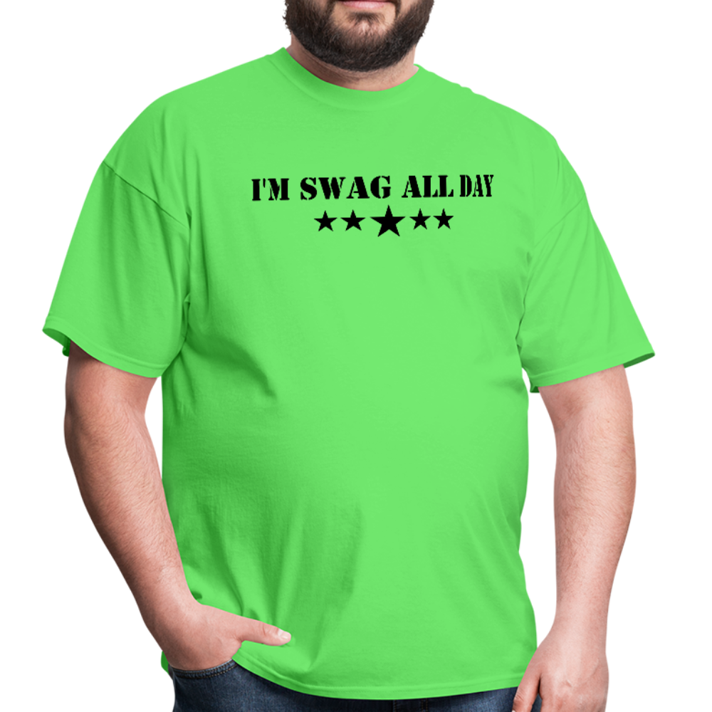 I'm Swag All Day Men's T-Shirt - kiwi