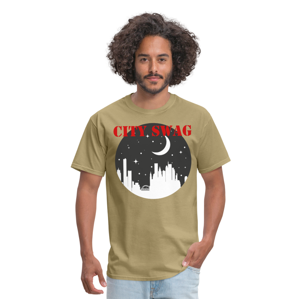 City Swag Men's T-Shirt - khaki