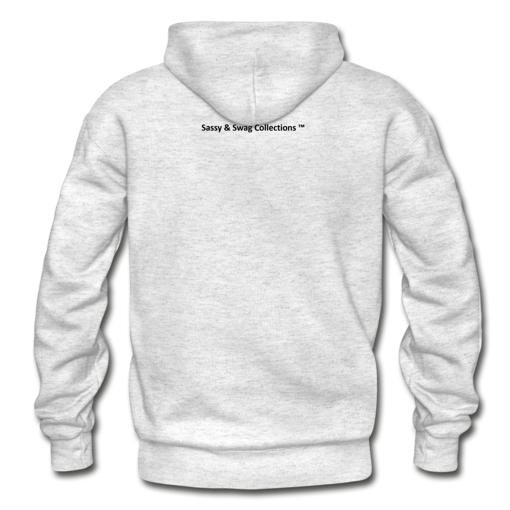 City Swag Gildan Heavy Blend Adult Hoodie - light heather gray
