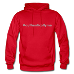 #authenticallyme Gildan Heavy Blend Adult Hoodie - red