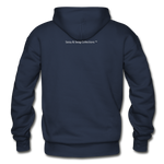 #authenticallyme Gildan Heavy Blend Adult Hoodie - navy