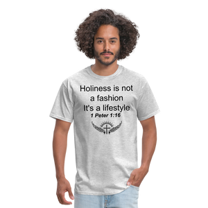 Holiness is not a fashion Men's T-Shirt - heather gray