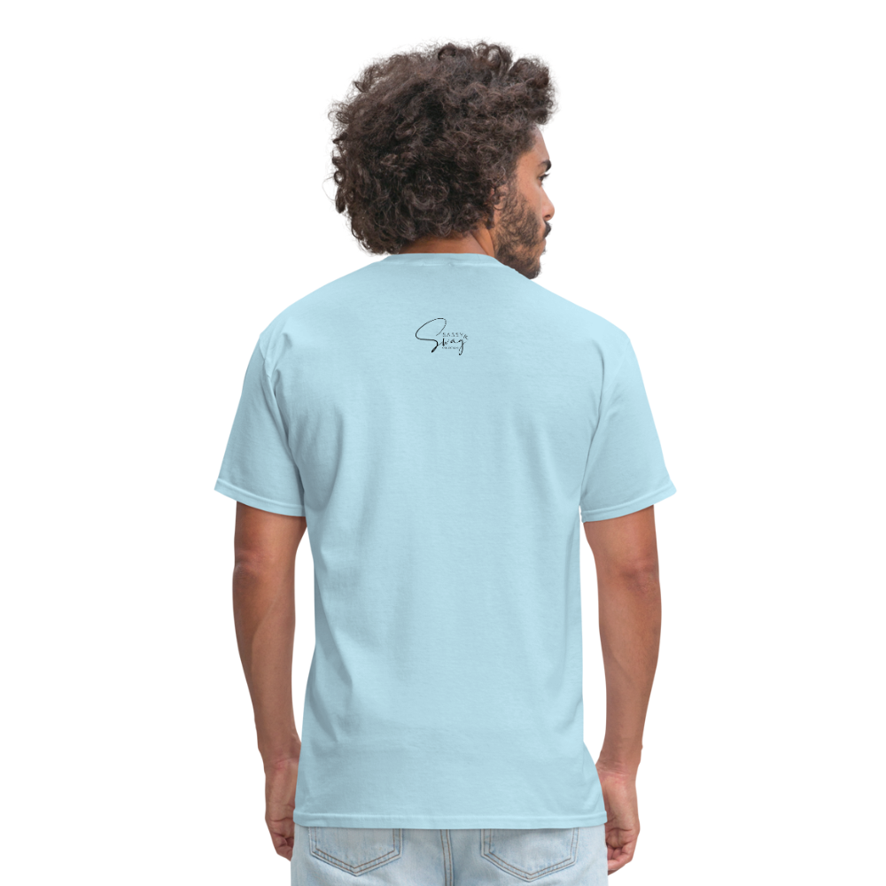 Holiness is not a fashion Men's T-Shirt - powder blue