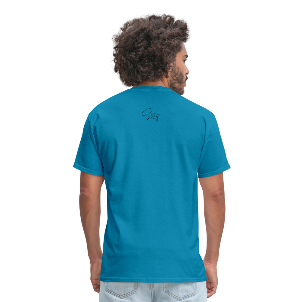 Holiness is not a fashion Men's T-Shirt - turquoise