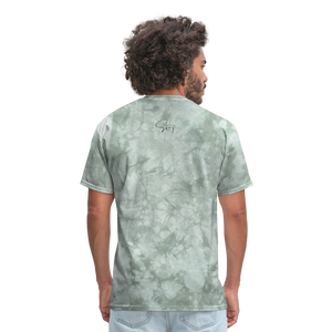 Holiness is not a fashion Men's T-Shirt - military green tie dye