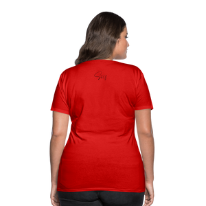 Holiness is not a fashion Women's Premium T-Shirt - red