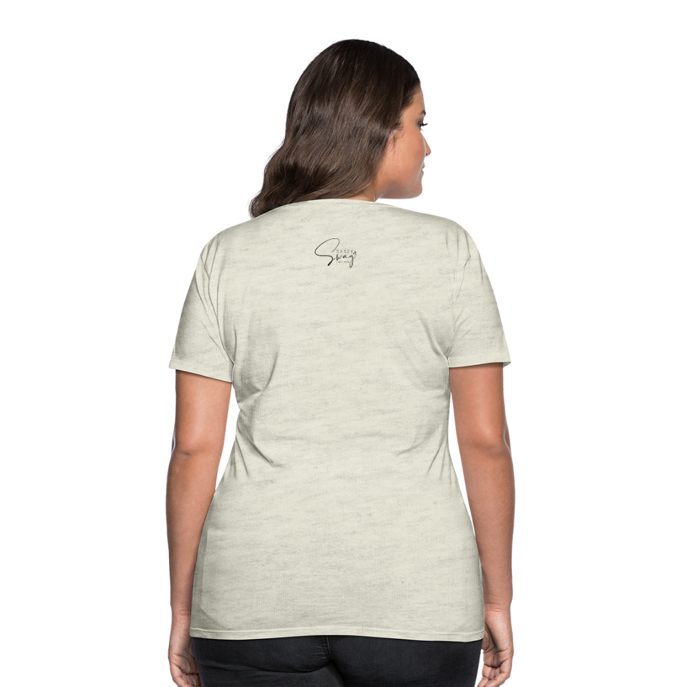 Holiness is not a fashion Women's Premium T-Shirt - heather oatmeal