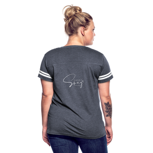 The Truth Hurts Women's Vintage Sport T-Shirt - vintage navy/white