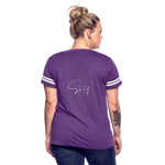 The Truth Hurts Women's Vintage Sport T-Shirt - vintage purple/white