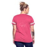 The Truth Hurts Women's Vintage Sport T-Shirt - vintage pink/white
