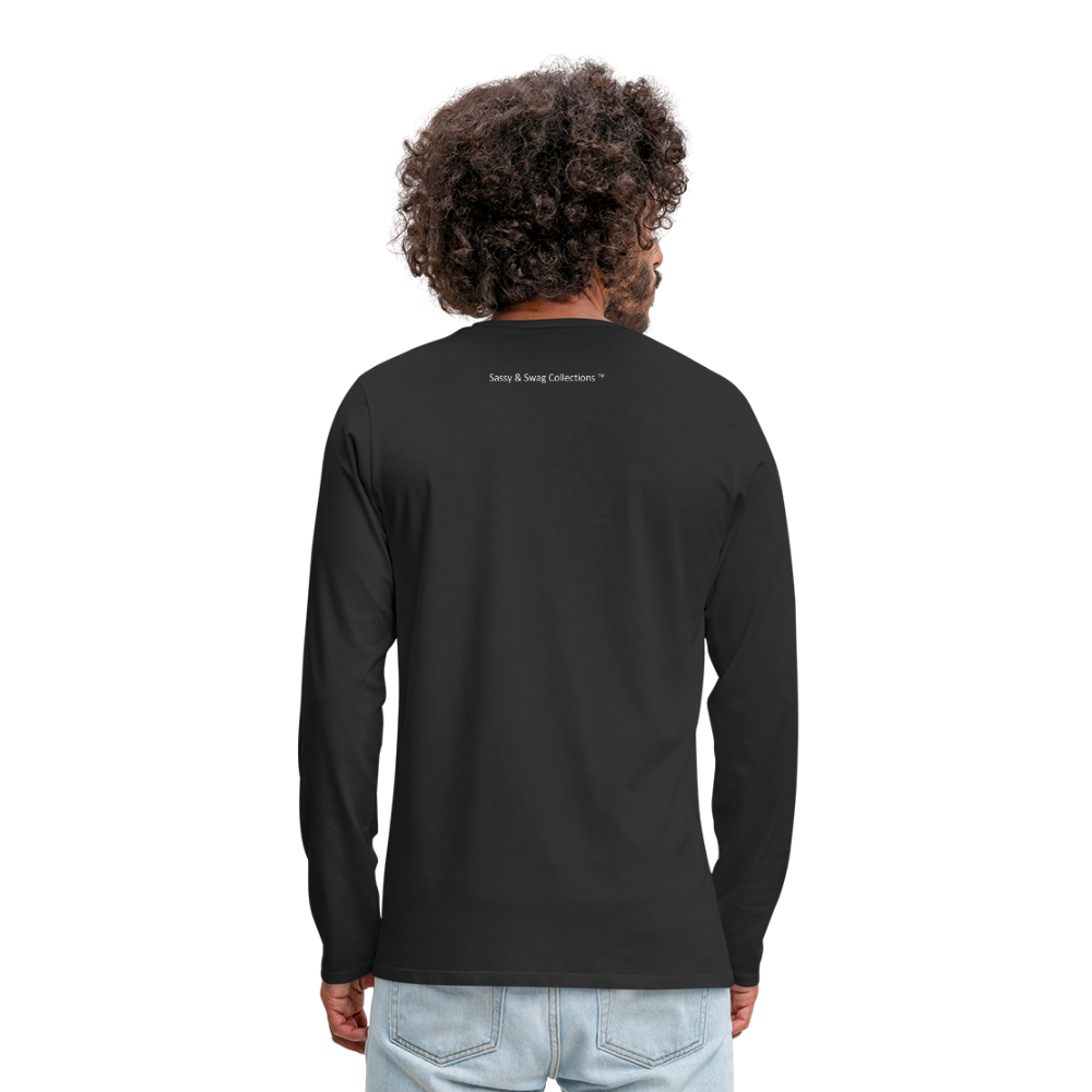The Truth Hurts Men's Premium Long Sleeve T-Shirt - black