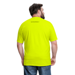 No Drama Zone Men's T-Shirt - safety green