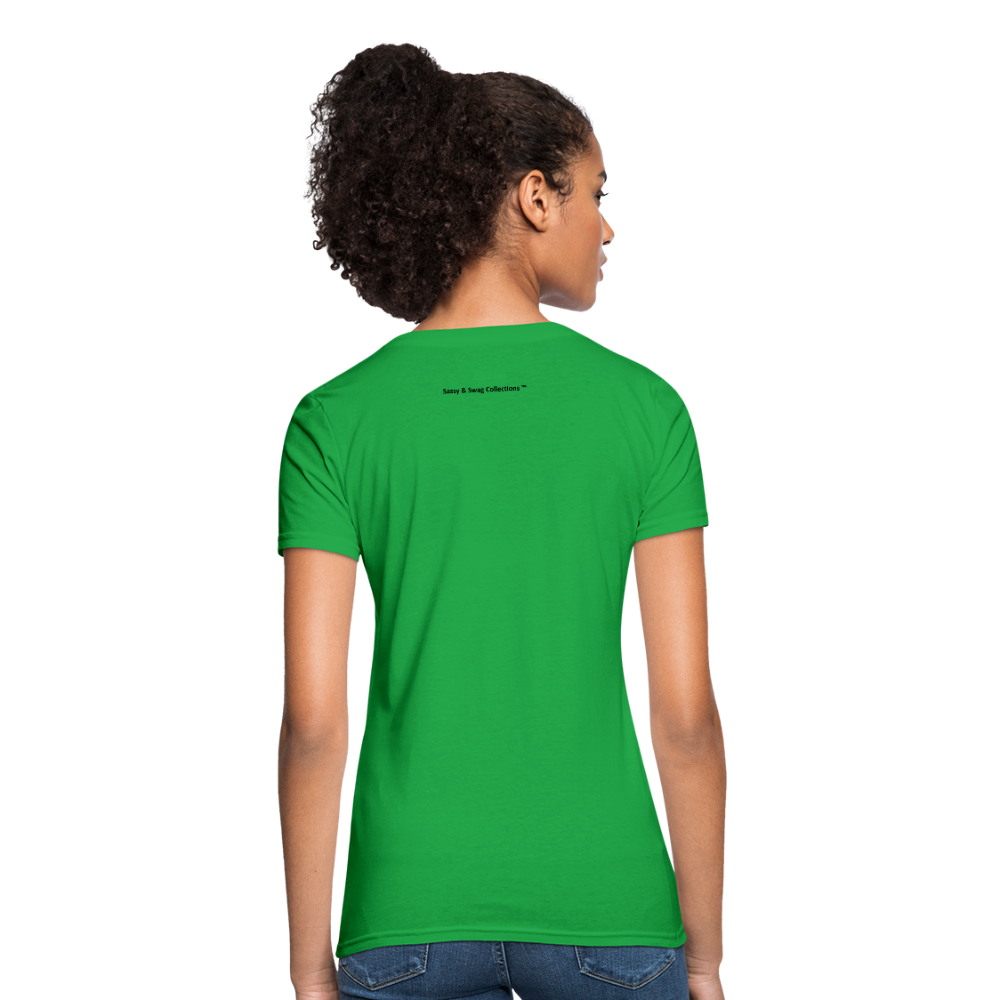 No Drama Zone Women's T-Shirt - bright green