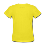 No Drama Zone Women's T-Shirt - yellow