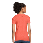 No Drama Zone Women's T-Shirt - heather coral