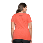 100% SASSY Women's T-Shirt - heather coral