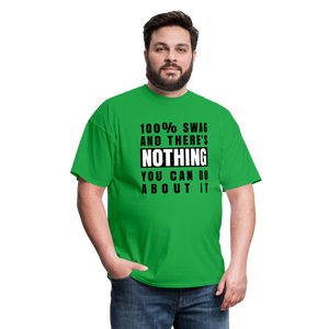 100% SWAG Men's T-Shirt - bright green