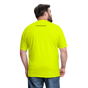 100% SWAG Men's T-Shirt - safety green
