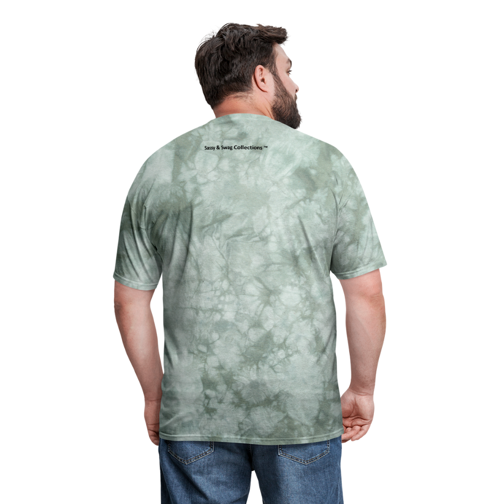 100% SWAG Men's T-Shirt - military green tie dye