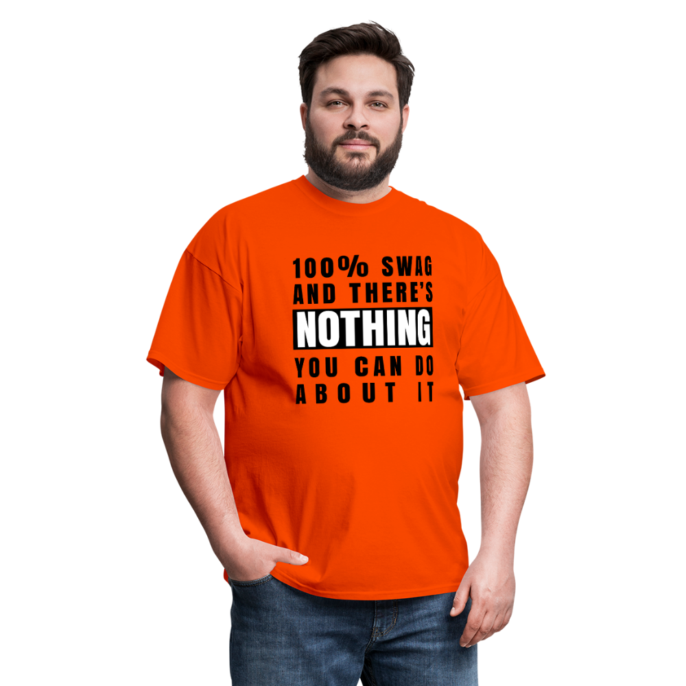 100% SWAG Men's T-Shirt - orange