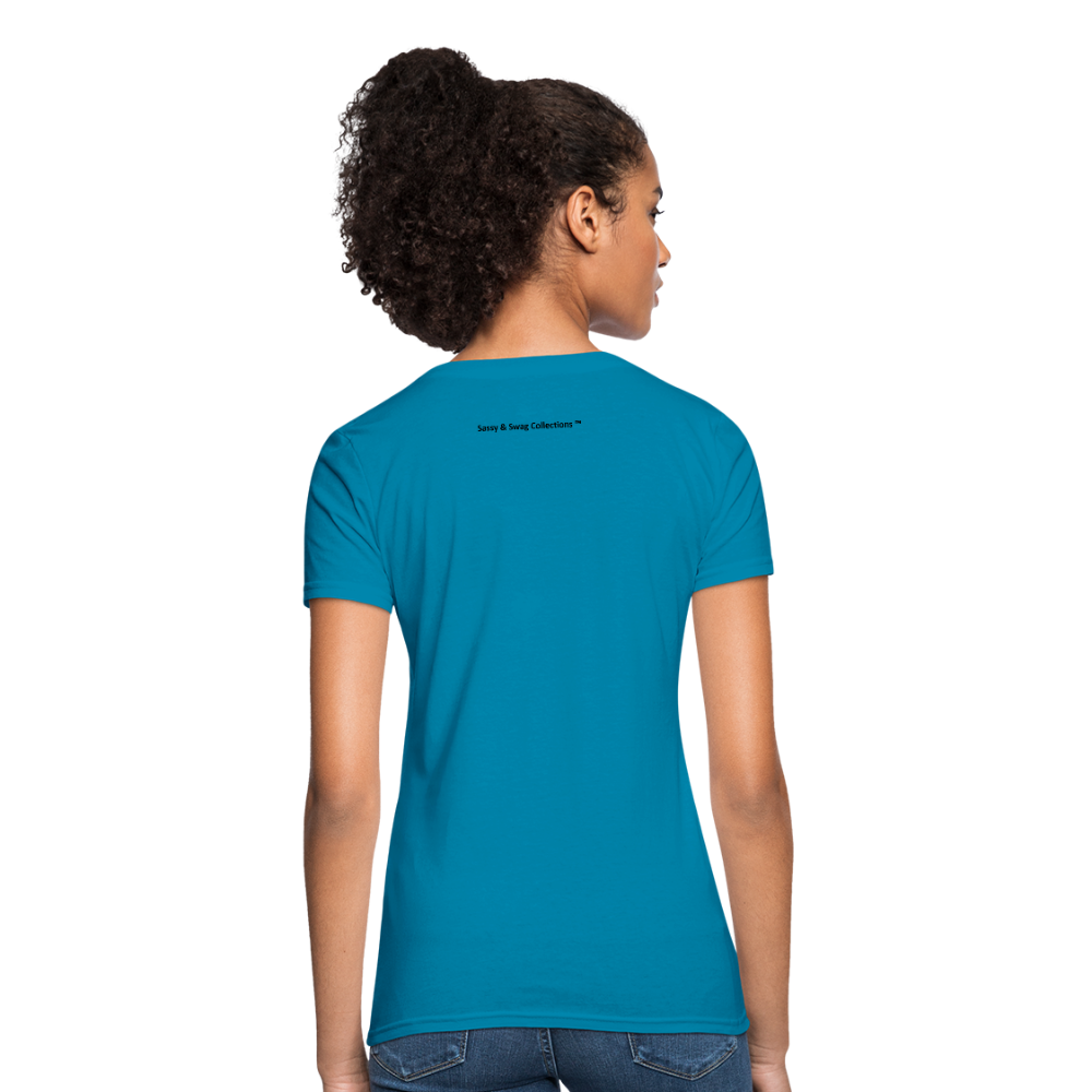 I Have Favor Women's T-Shirt - turquoise