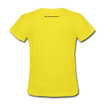I Have Favor Women's T-Shirt - yellow