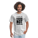 I Have Favor Men's T-Shirt - heather gray