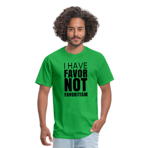 I Have Favor Men's T-Shirt - bright green