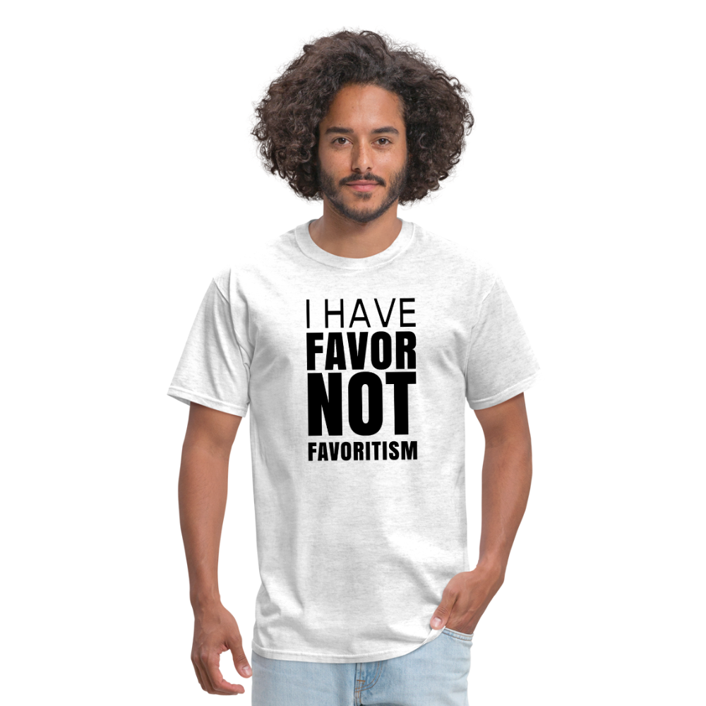 I Have Favor Men's T-Shirt - light heather gray