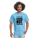 I Have Favor Men's T-Shirt - aquatic blue